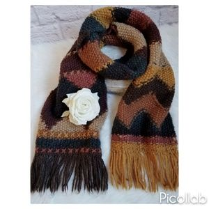"Beautiful ""Tara"" Brand Handknit Scarf"